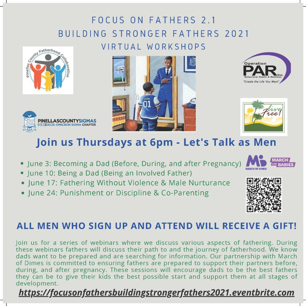 Focus on Fathers - Building Stronger Fathers Virtual Workshops